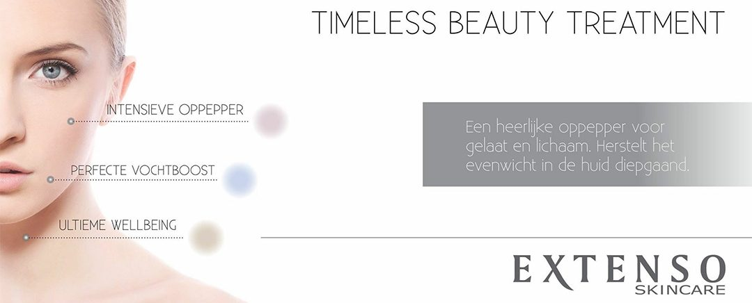 Nieuw: Timeless beauty treatment